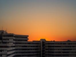Ekbatan Town at sunset