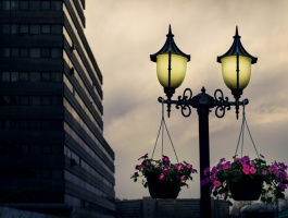 Old street lights
