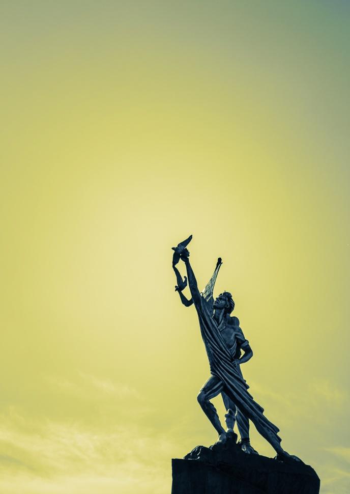 Statue of  Hezar sangar Square