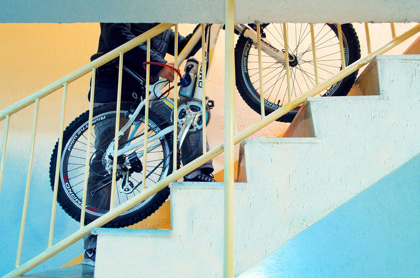 My bike parking, Go cycling