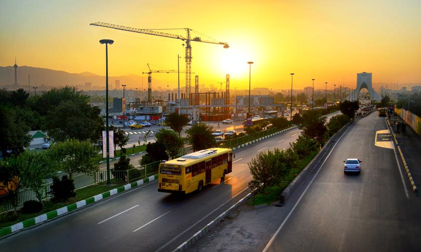 Ways leading to Azadi square