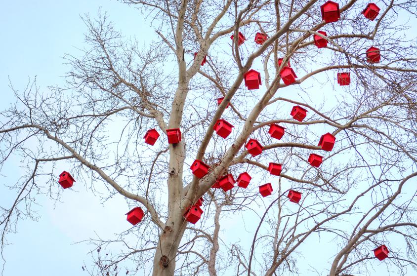 Artificial bird nest